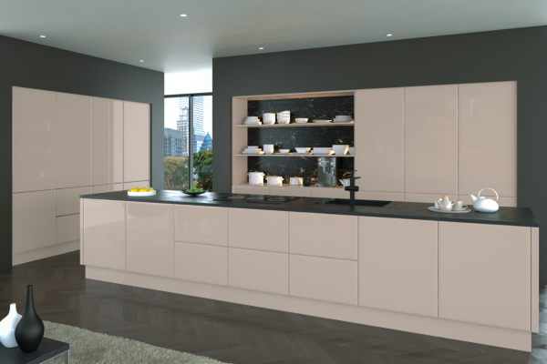 Bella High Gloss Cashmere / Style: Lincoln